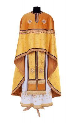 gold priest vestment