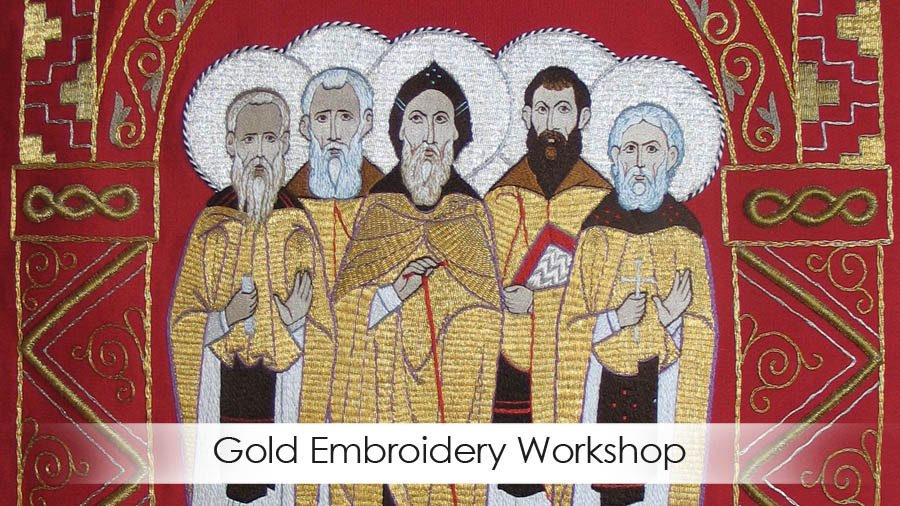 Learn more about Gold Embroidery Workshop